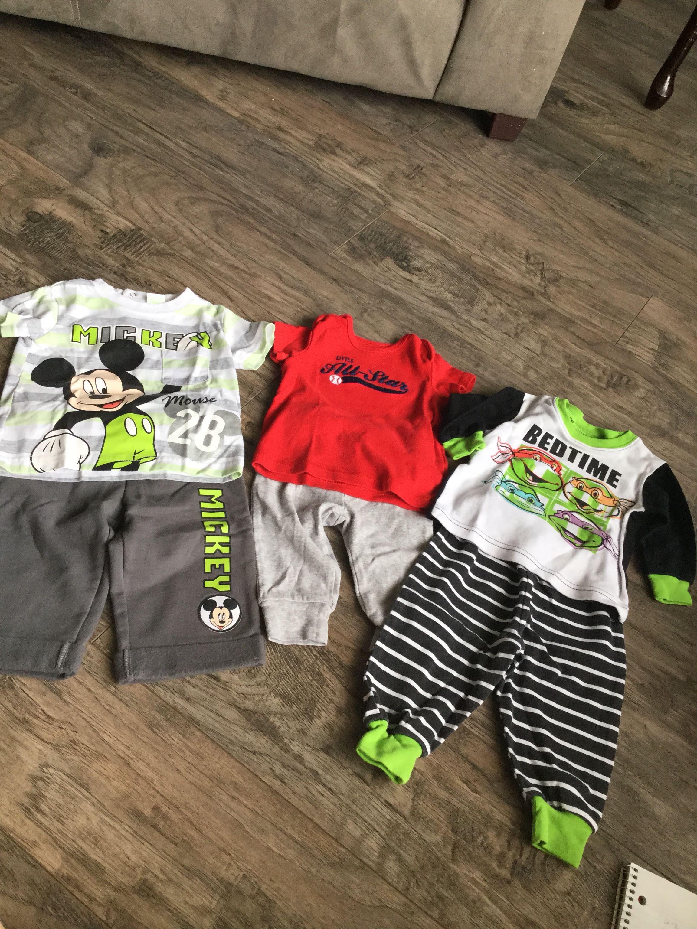 3-6 Month George & Carters Outfit