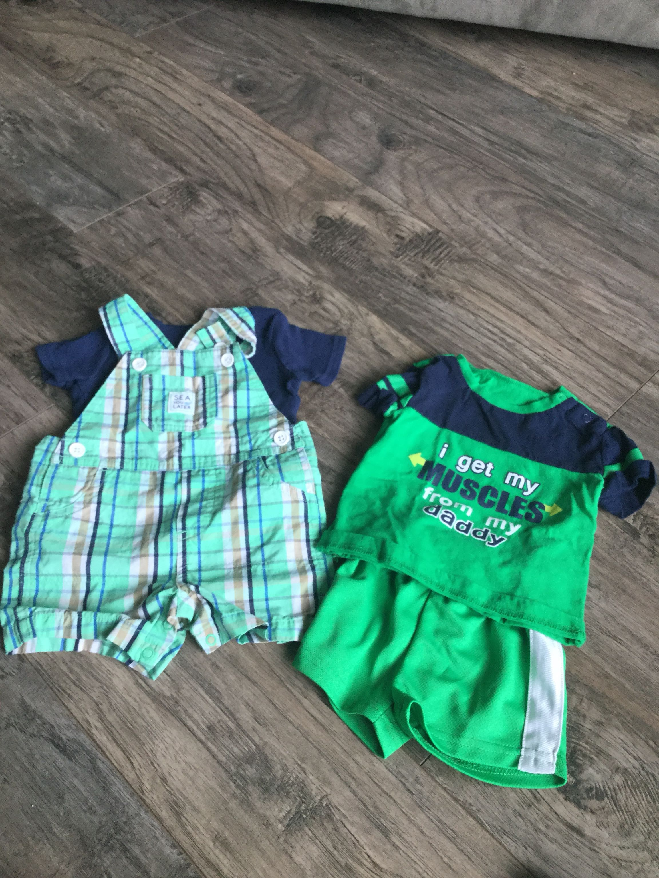 3-6 Month Carters & George Brand Outfits