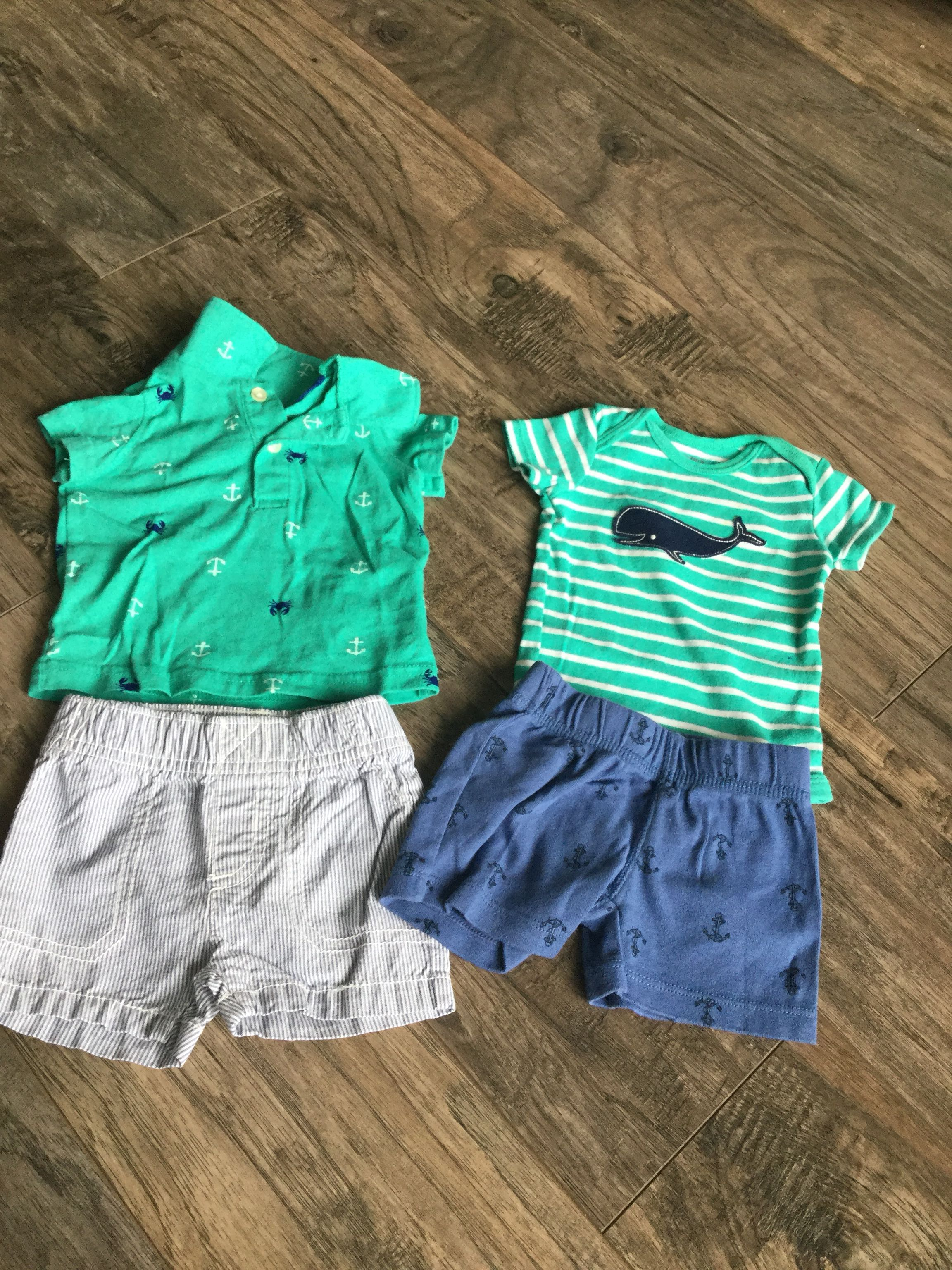 3 Month Carters Brand Outfits