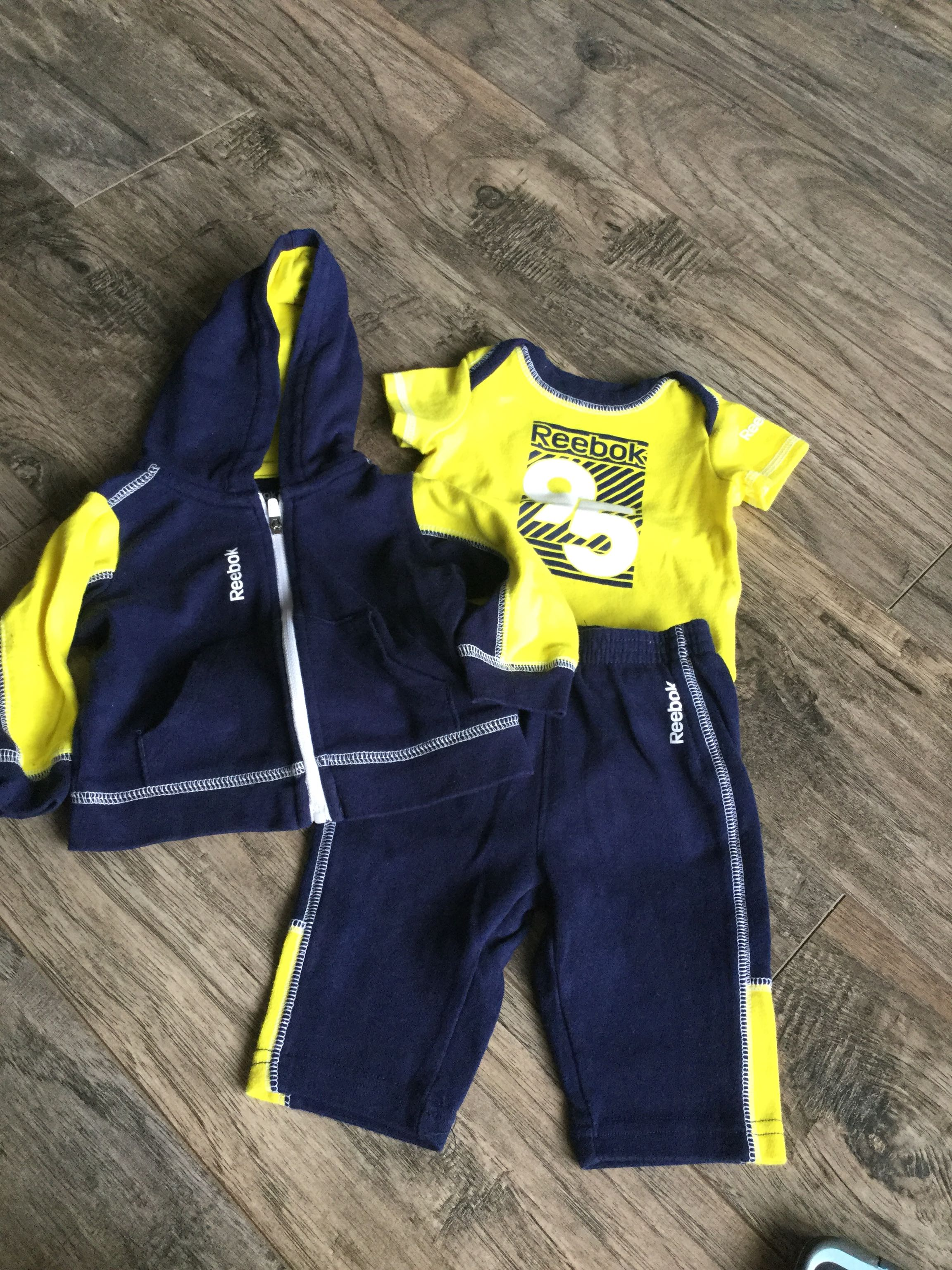 0-3 Month Reebok Outfit