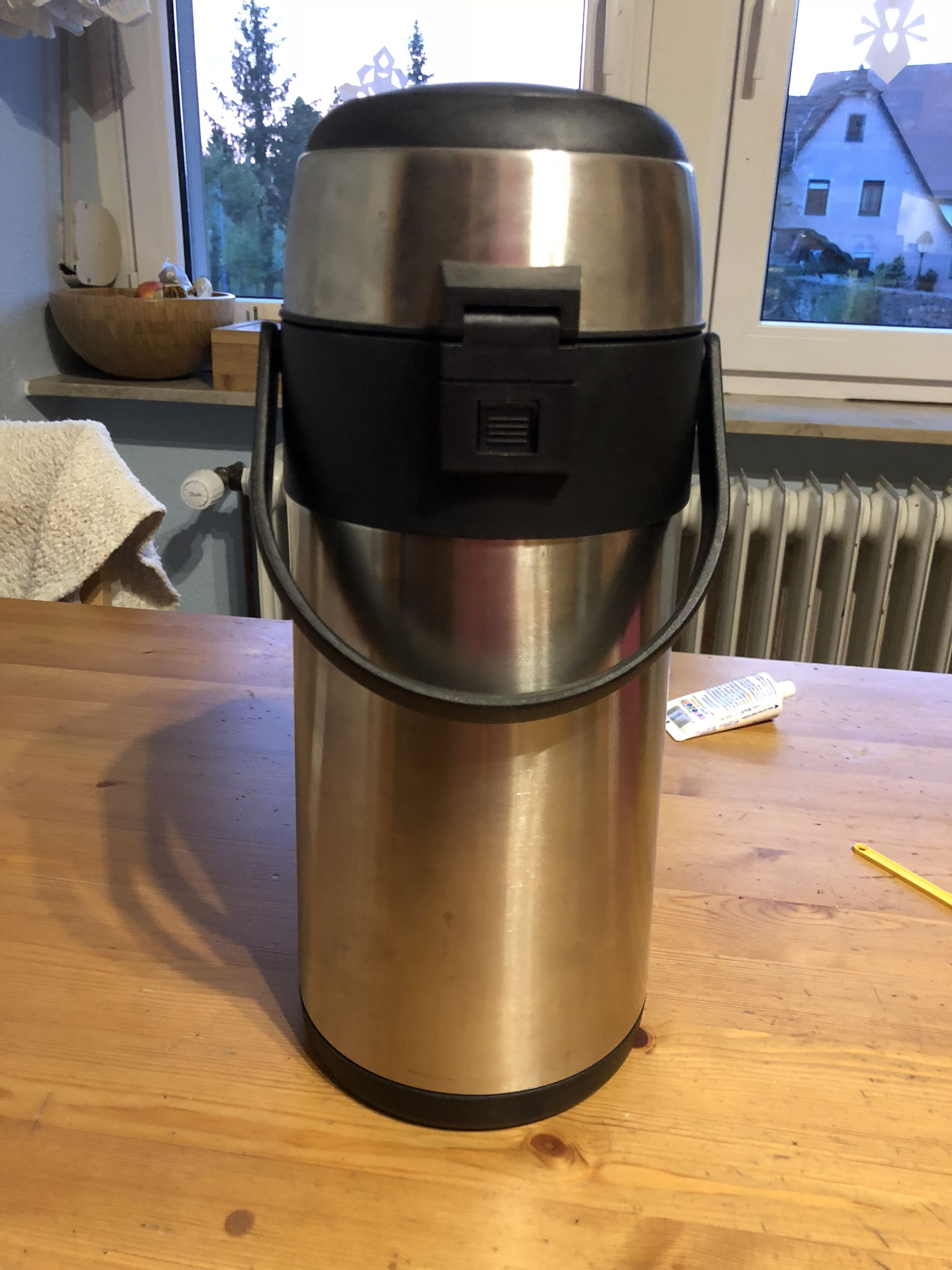 Like new large coffee thermos