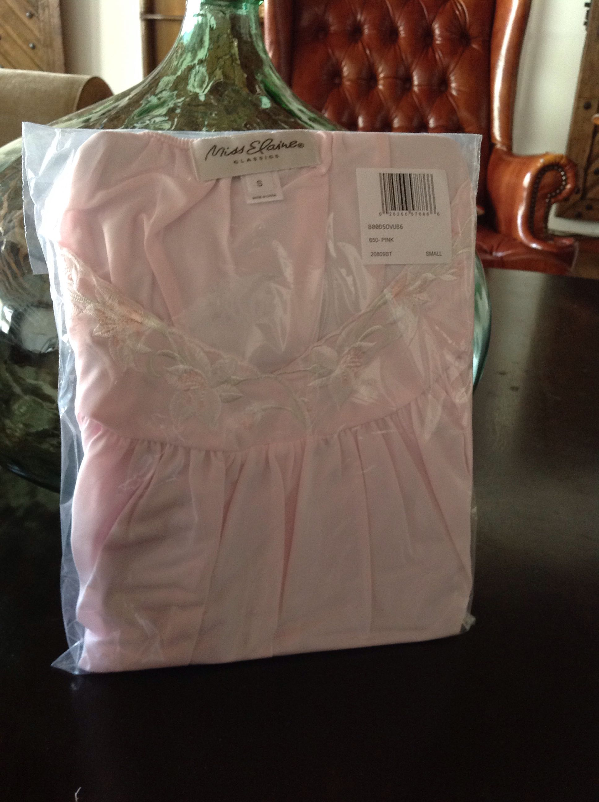 New pink nightgown
