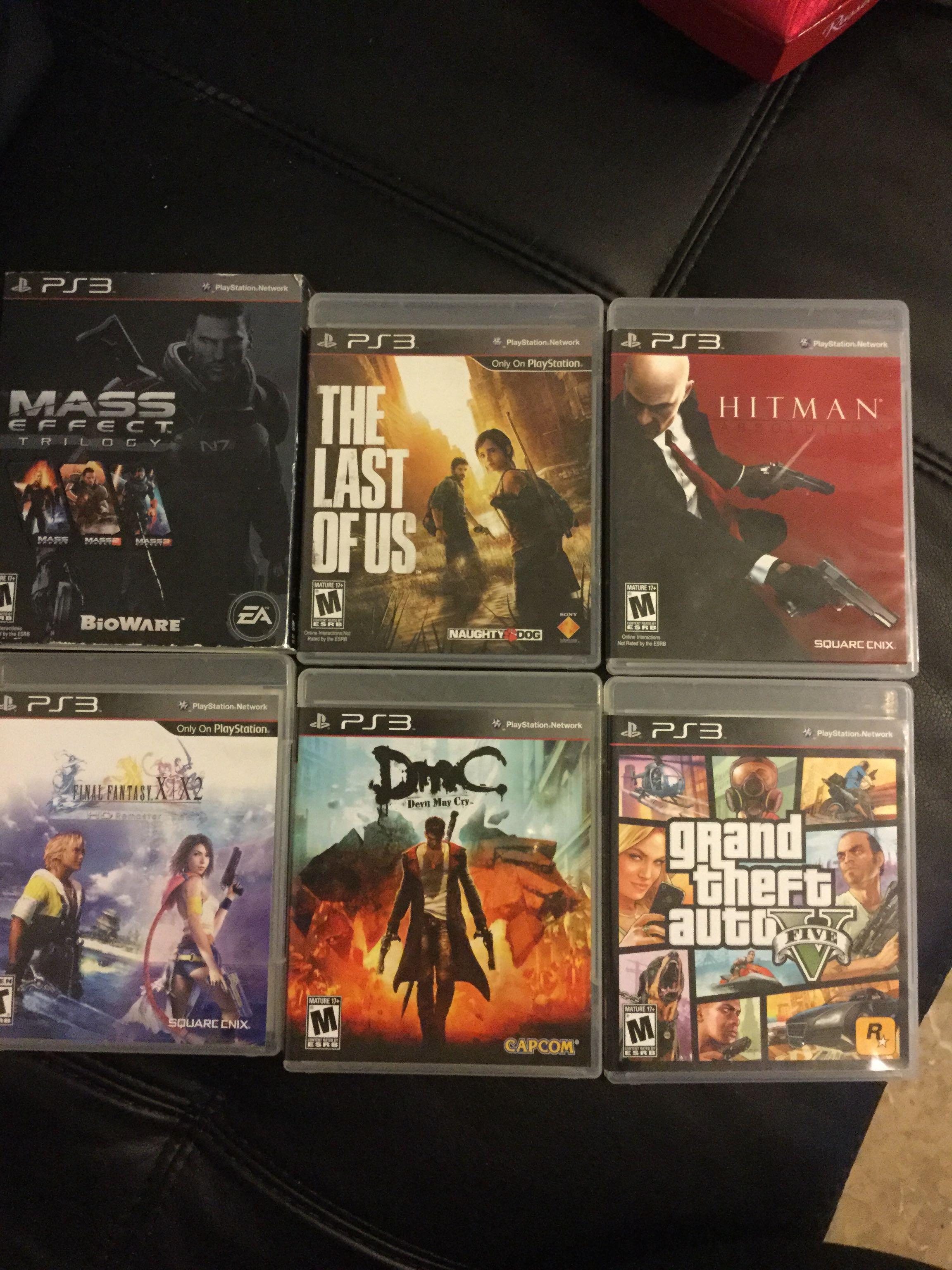 PS3 games - all together or single piece