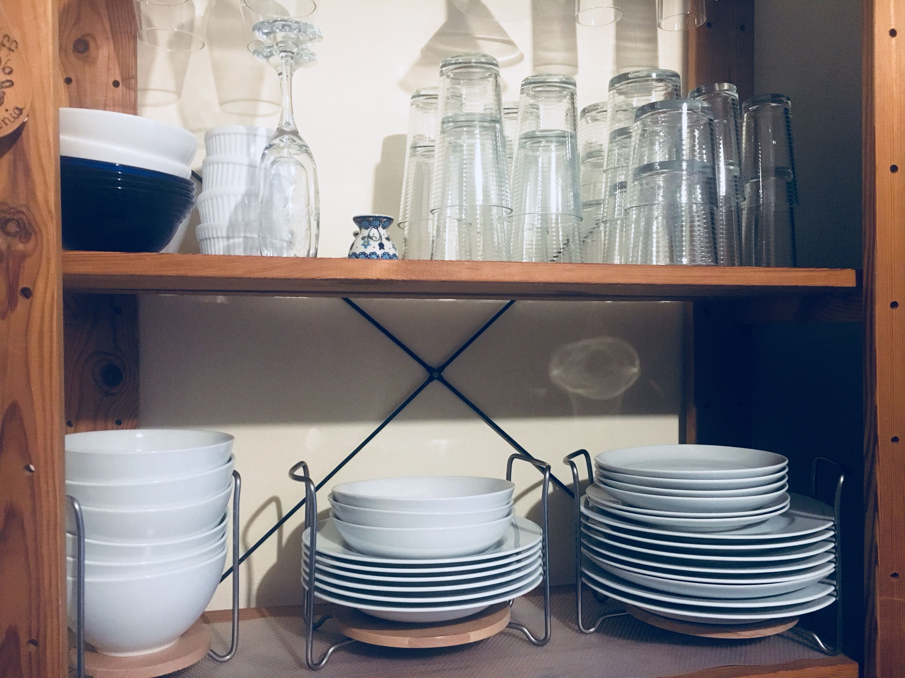 Dish & Glass Set
