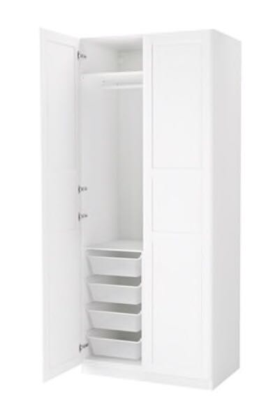 Wybitny Find more Ikea Pax Tyssedal Wardrobe for sale at up to 90% off ZI67