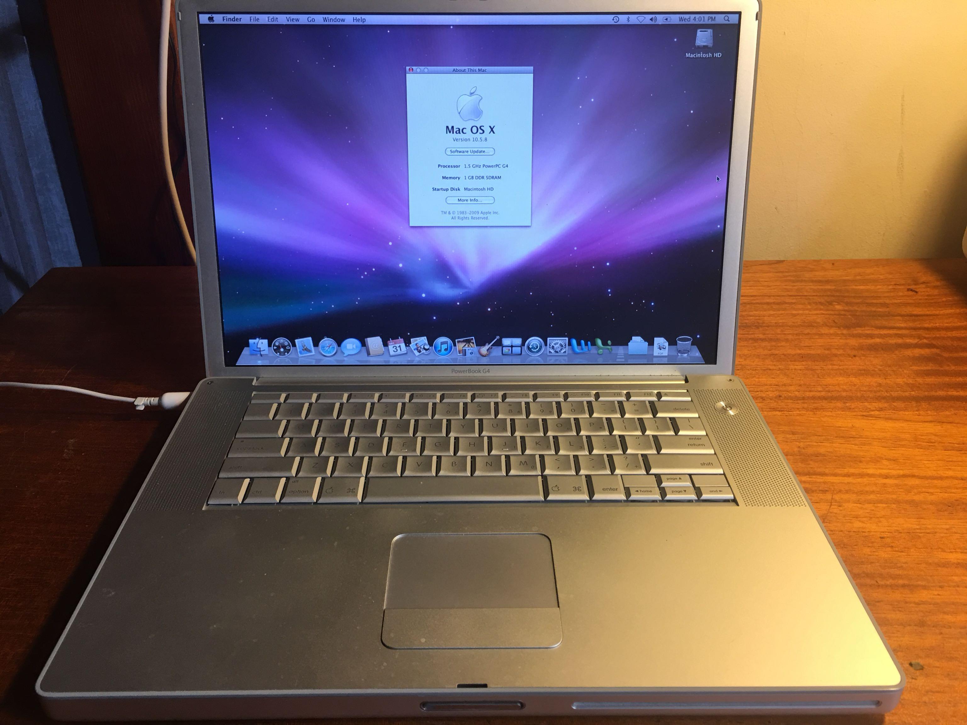 Wonderbaarlijk Best Apple Powerbook G4 for sale in Victoria, British Columbia for HS-19