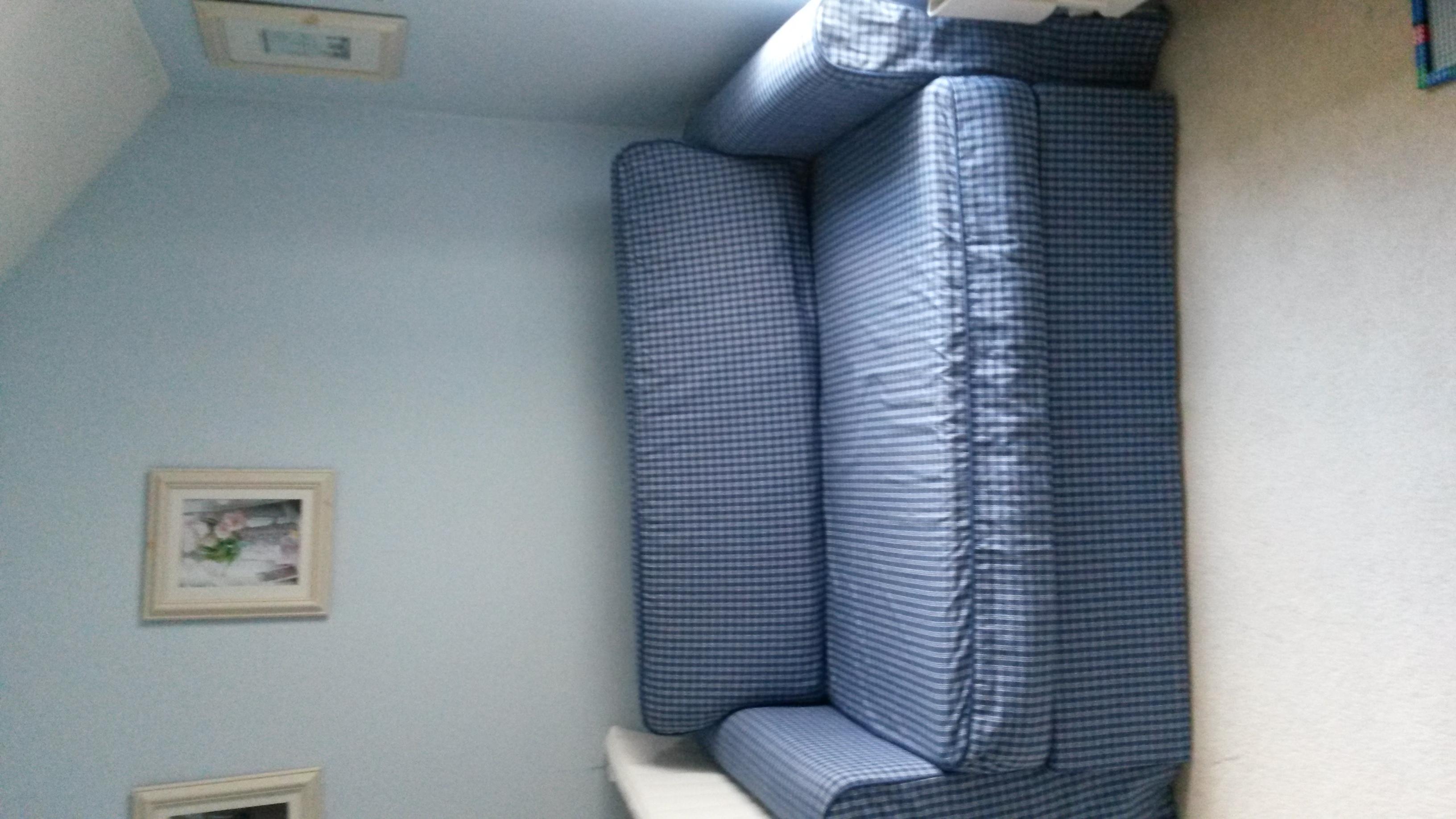 Verwonderlijk Find more Ikea Hagalund Sofa Bed (fruvik Blue) for sale at up to QQ-46