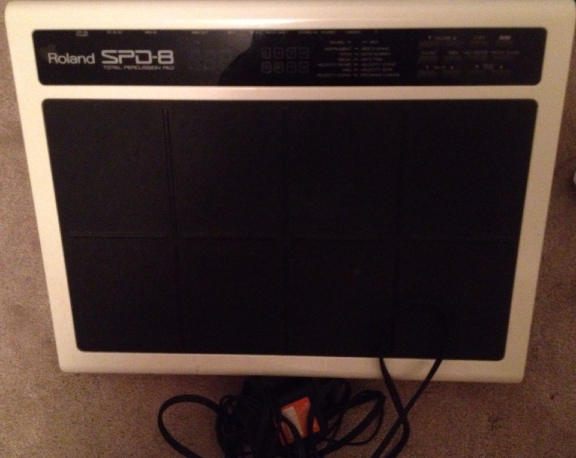 Ongebruikt Find more Roland Spd8 Spd-8 Drum Percussion Pad Midi for sale at OP-36
