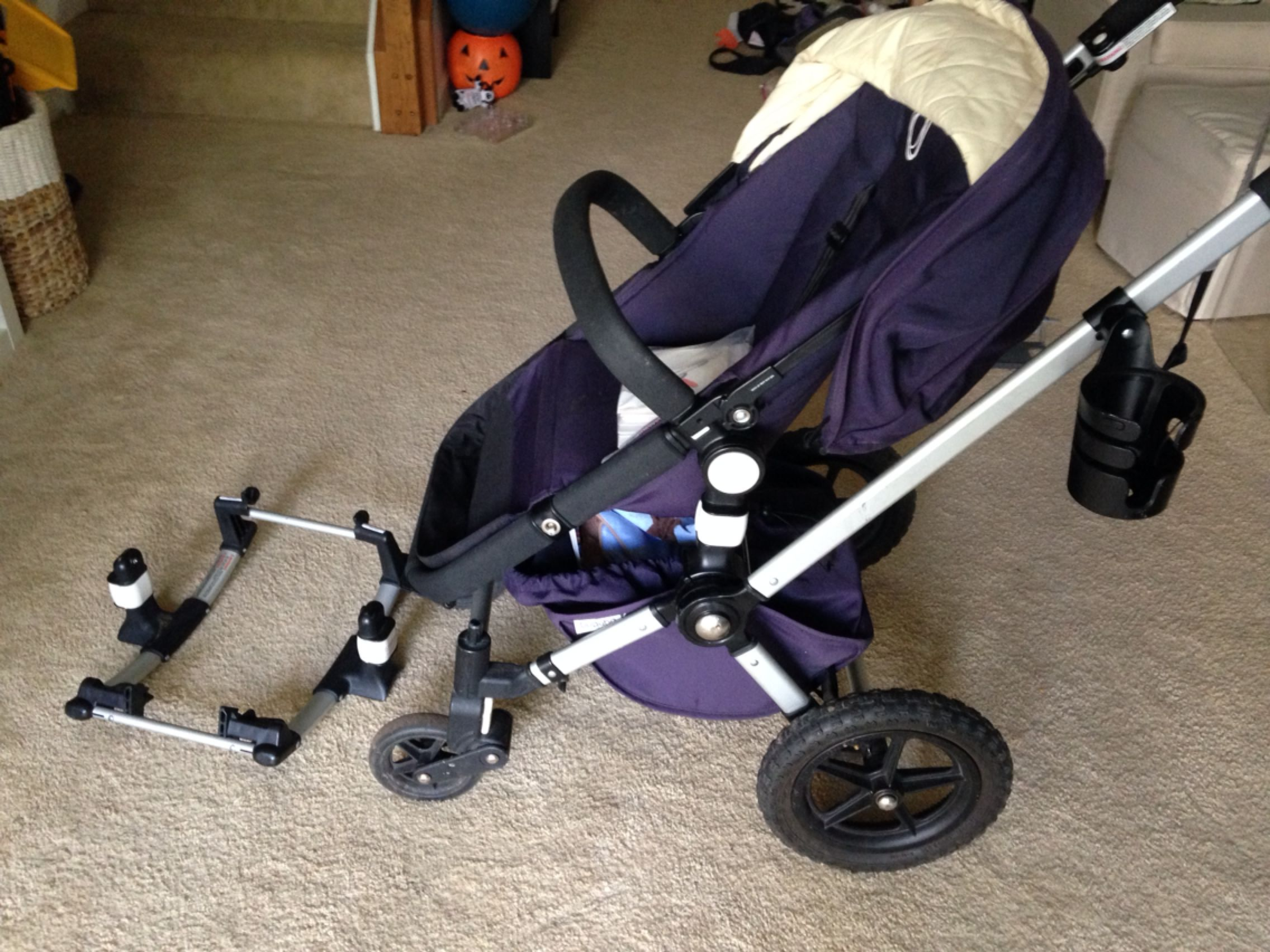 Beste Best Bugaboo Frog Stroller With Graco Car Seat Attachment And Cup LD-81