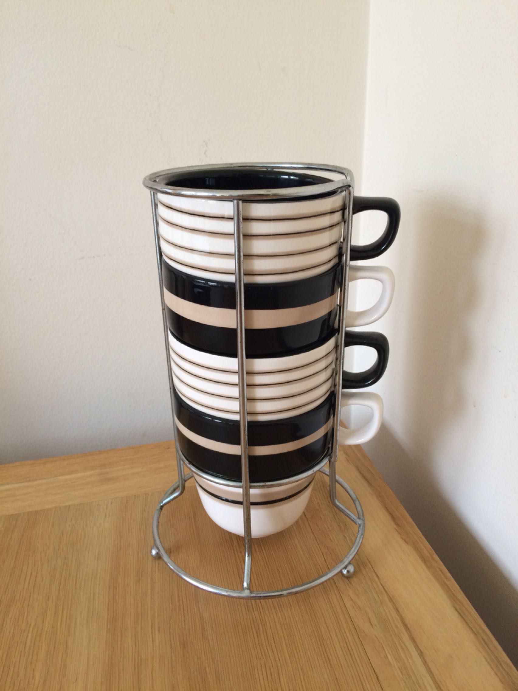 Well-known Astonishing Stacking Mugs With Stand Photos - Best Image Engine  EP86