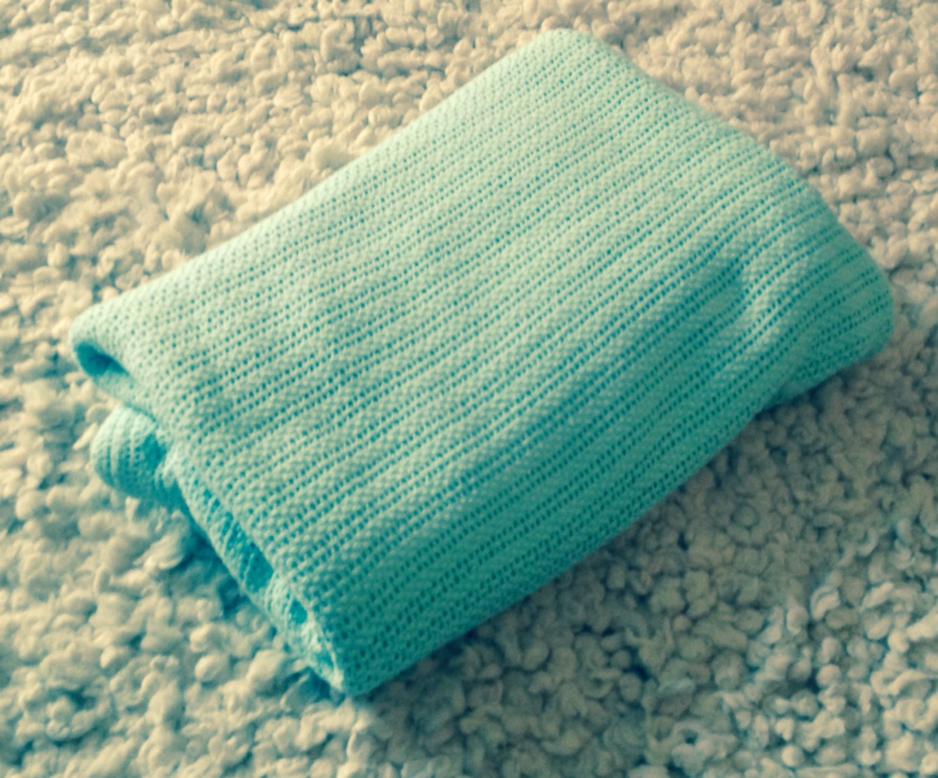 Best Find more Large 100% Cotton Cable Knit Blanket In Mint Green  HL98