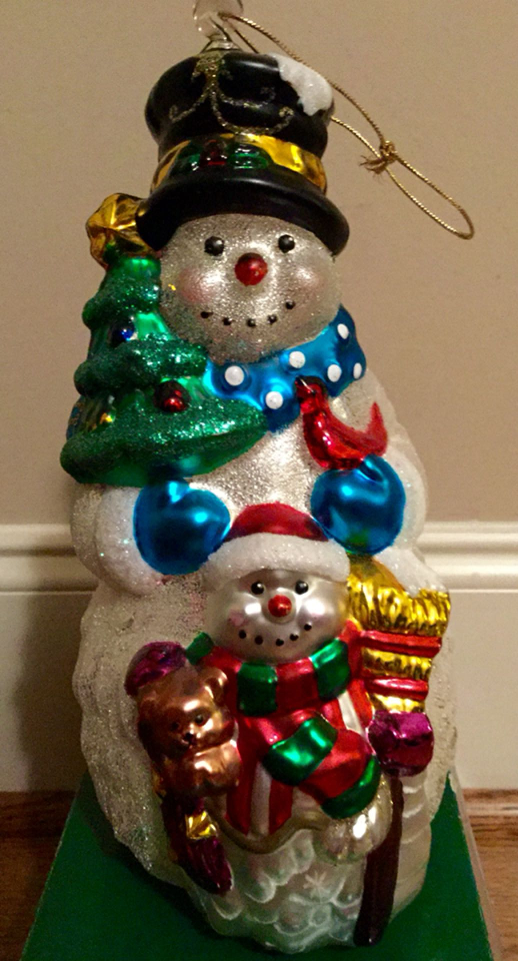 Well-liked Find more Large Mercury Glass Snowman Ornament- $10.00 for sale at  XK12