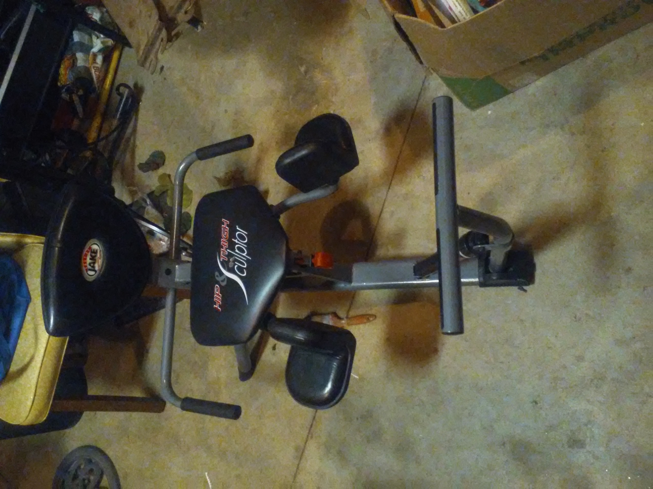 Body by jake hip & thigh culptor exercise machine