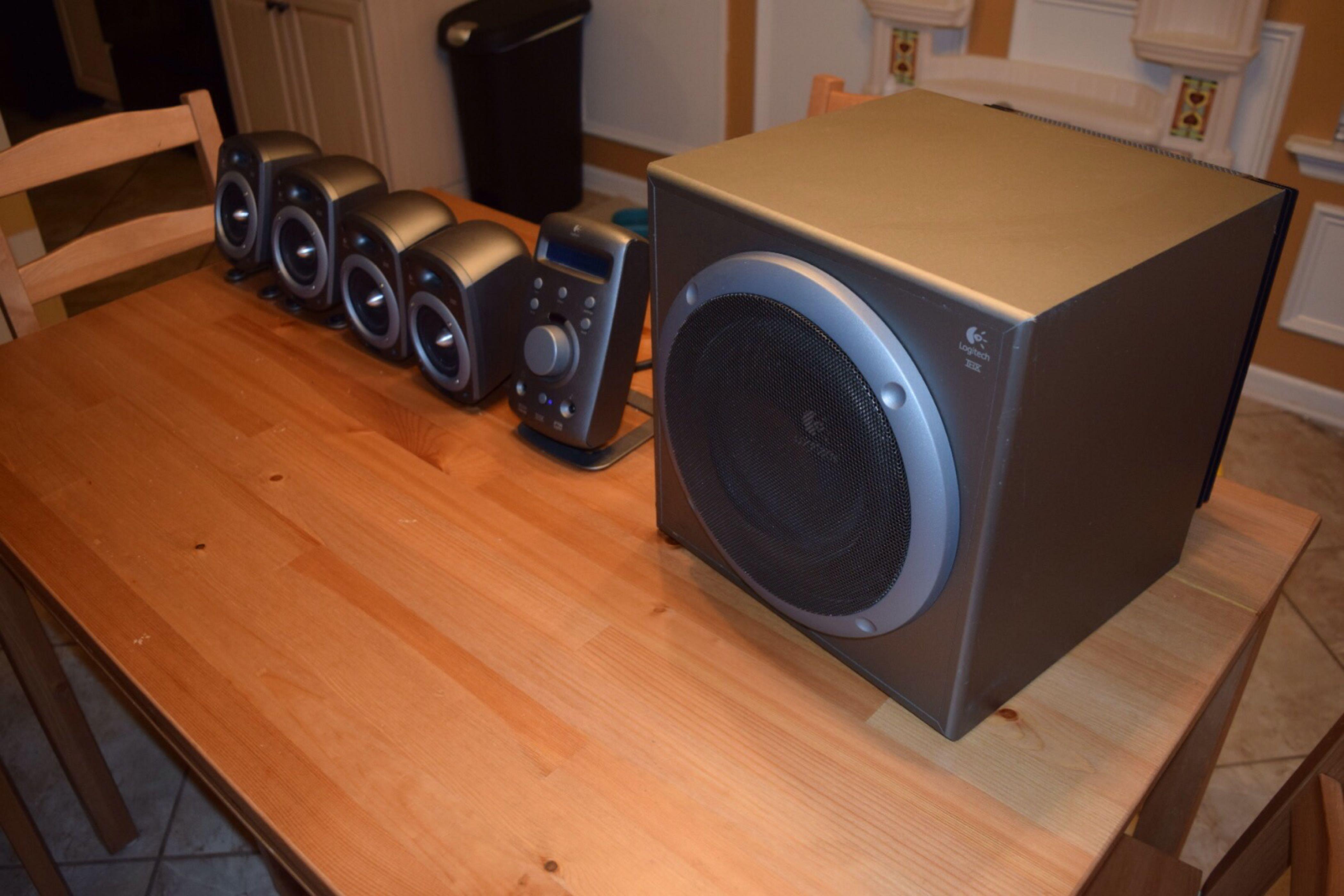 Ongebruikt Best Logitech Z-680 Speakers for sale in Appling, Georgia for 2019 GT-48