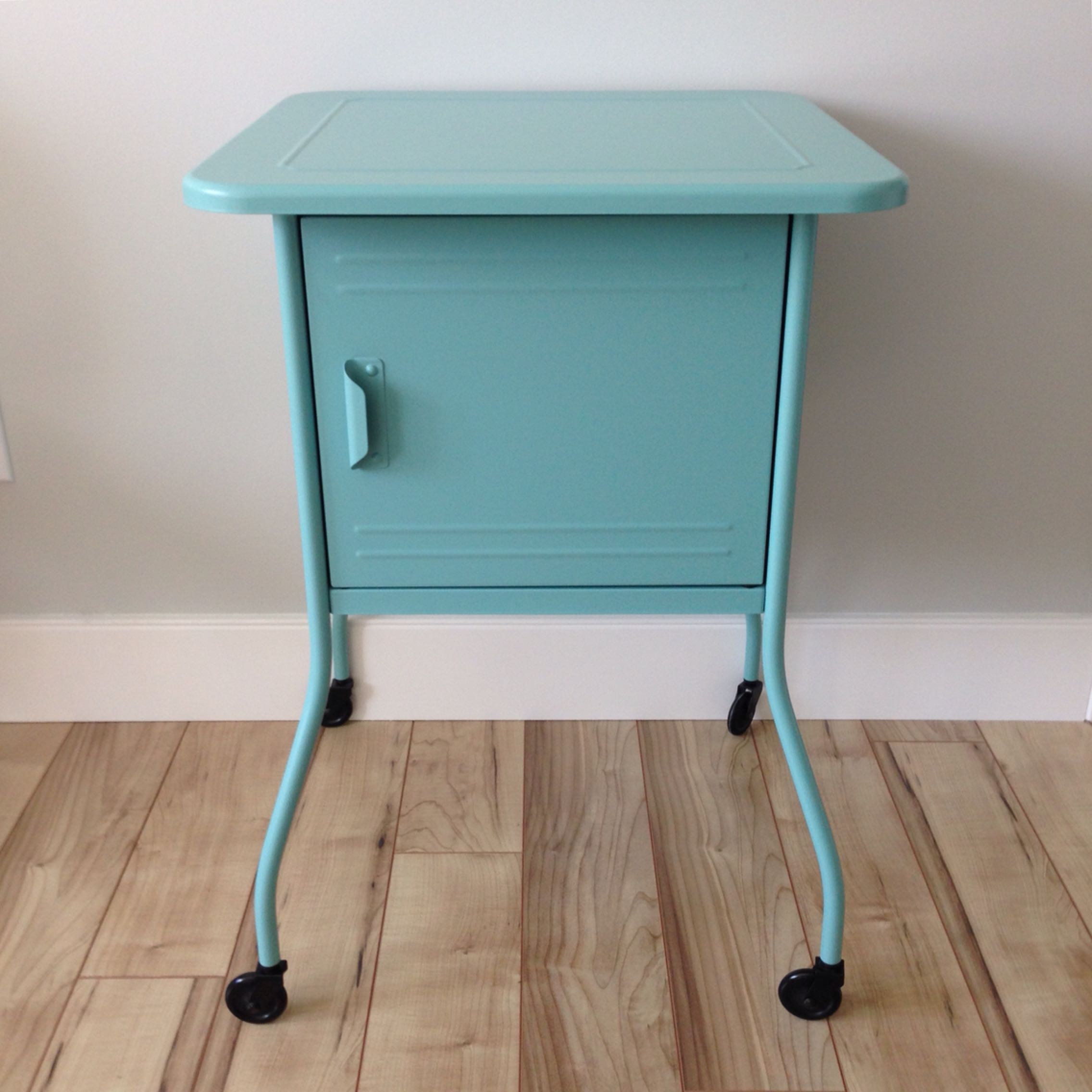 Completely new Find more Ikea Vettre Bedside Table. Metal, With Casters And  OV75