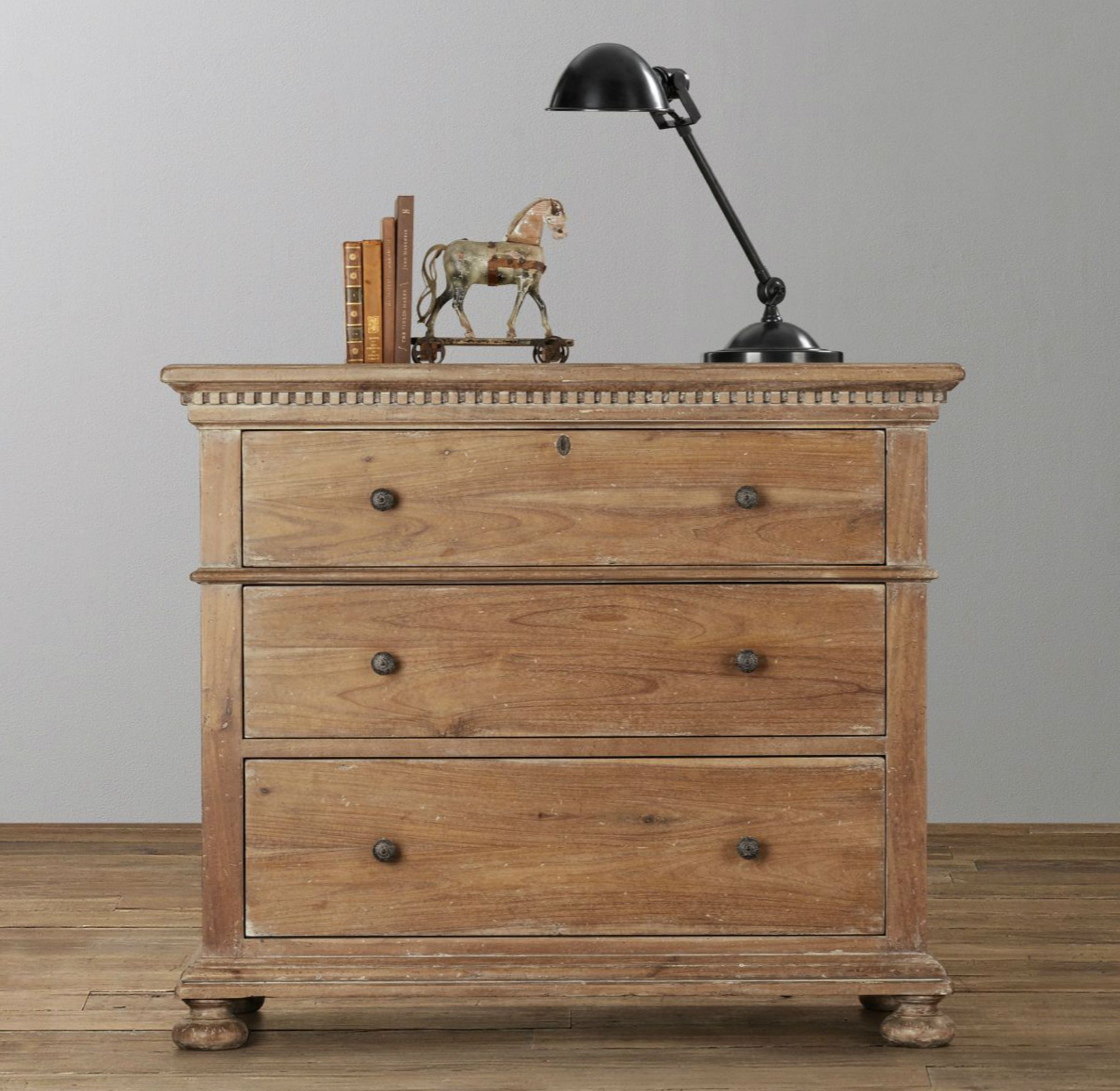 Well-liked Best New Restoration Hardware Jameson Dresser In Antique Natural  AS06