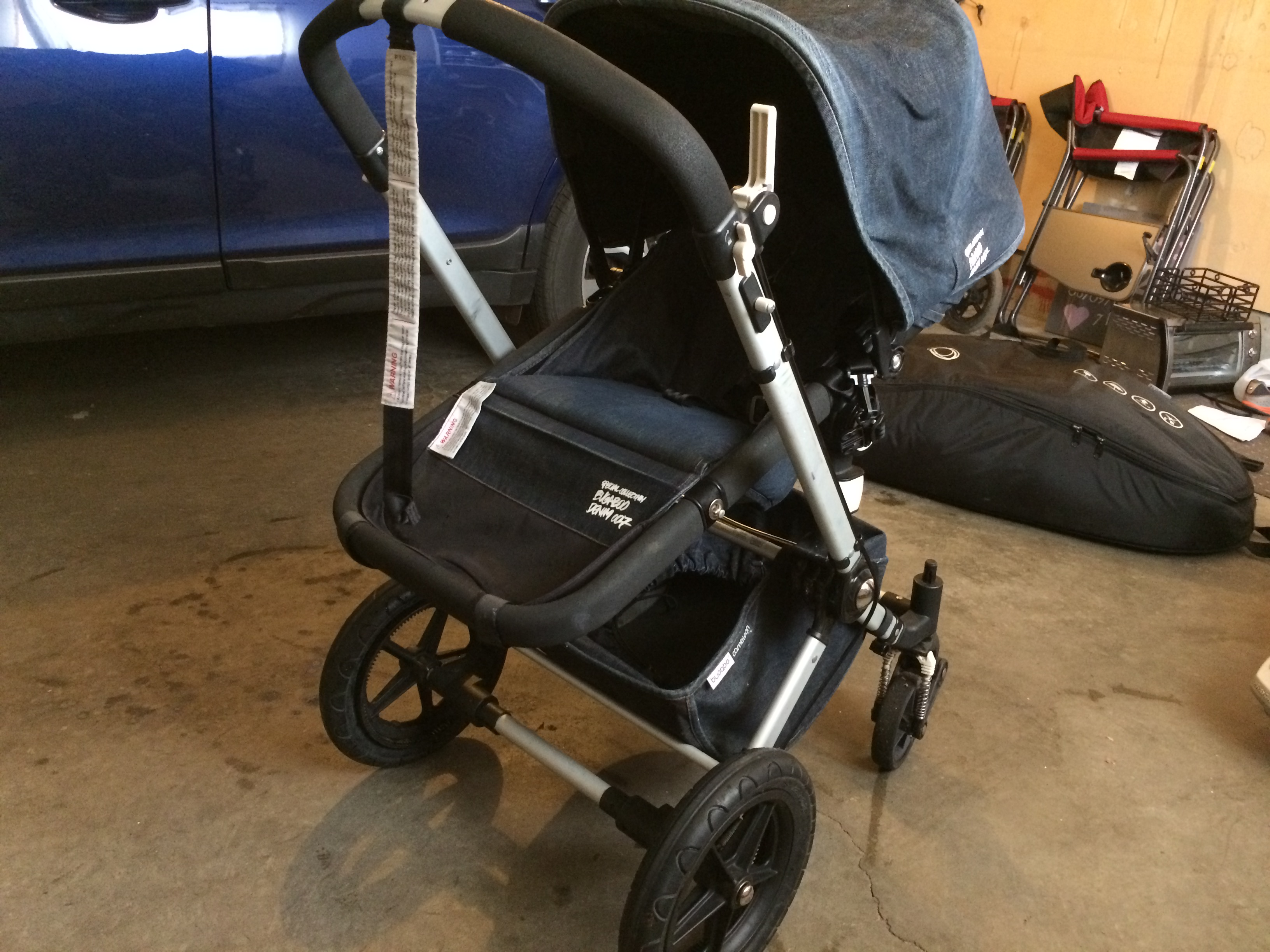 Ongekend Best Bugaboo Cameleon Denim Special Edition W/ Accessories (price QS-18