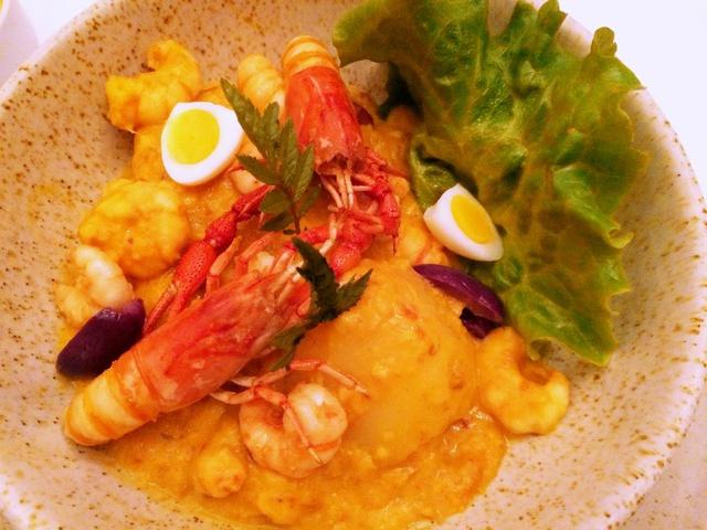 a delicious shrimp dish