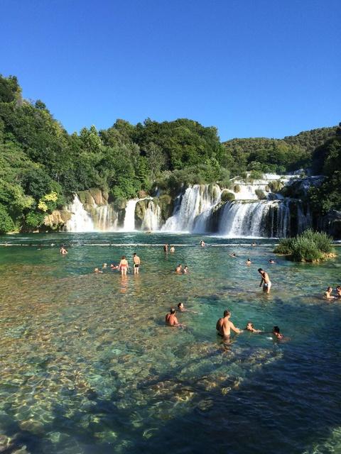 'nature-made' swimming pool