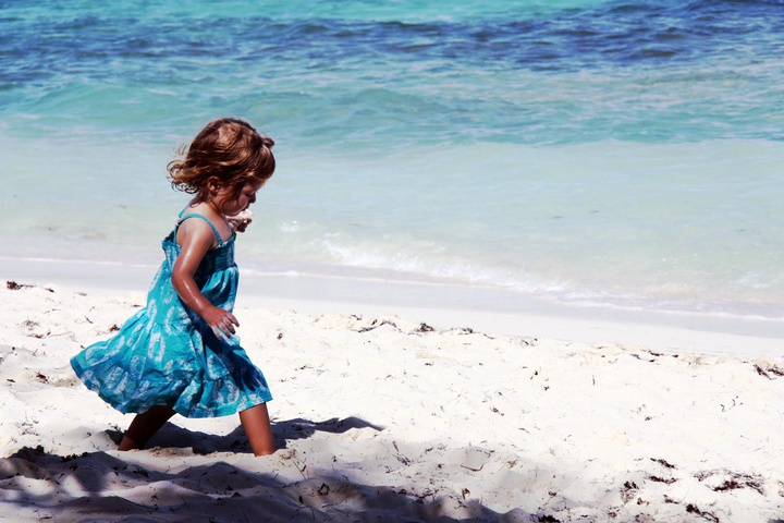 soft 'sinking' sand