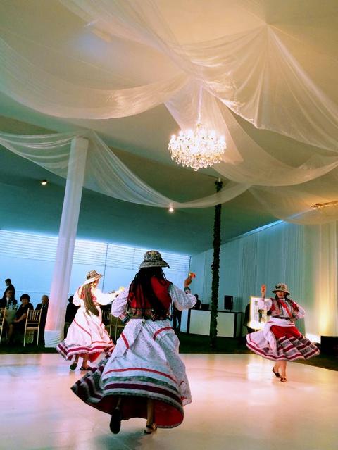 Peruvian folk dance