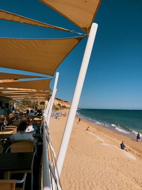 a public beach 10-min walk from the hotel