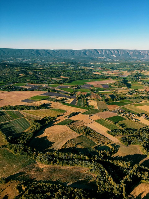 Luberon hot air balloon ride