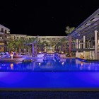 Breathless Riviera Cancun Resort and Spa - Pool at Night