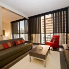 CASP74 Apartments Living Room and Bedroom