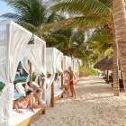 Desire Riviera Maya Pearl Resort - Beach Beds