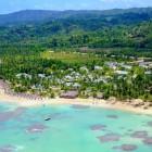 Grand Bahia Principe El Portillo Beach Aerial