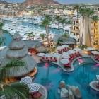 Marina Fiesta Resort and Spa Pool Aerial