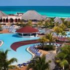 Memories Paraiso Beach Resort Pool Aerial