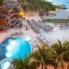 Villa Del Palmar Beach Resort Aerial