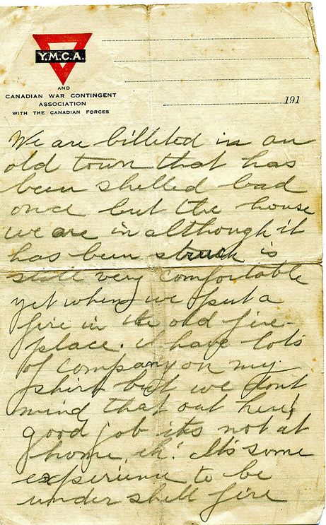 Old World War  Love Letters