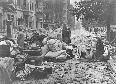 The bombing of berlin an eyewitness account blog for How many homes were destroyed in germany in ww2