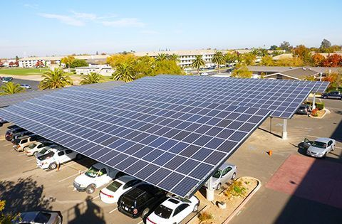 Solar Canopy Project & Solar Carports | Commercial Solar Carport Design u0026 Installation