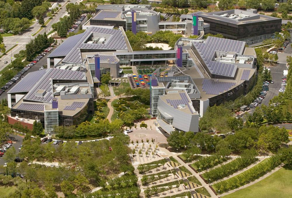 Google Headquarters Blue Oak Energy