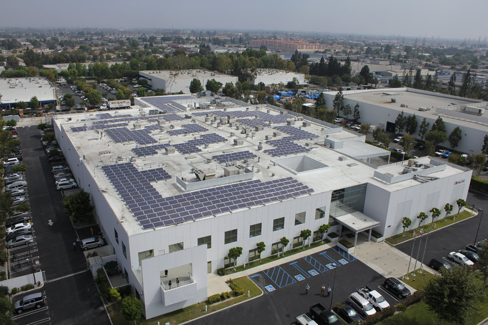 commercial solar panel installation rooftop solar company  hfa corp solar panel installation commercial