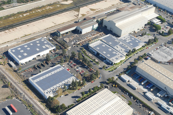 LA Steel Commercial Solar Rooftop Project