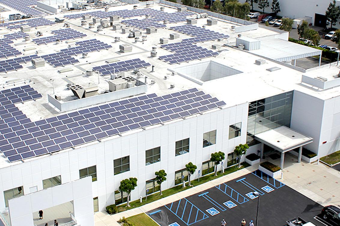 Industrial Solar Panels Amp Power Systems Blue Oak Energy