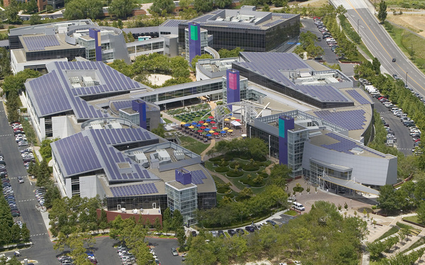 Rooftop Solar Parking Lots