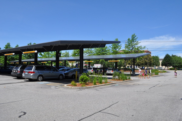 Parking Lot Solar Rooftop