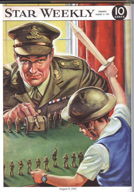 Toy Soldiers For Boys : The star weekly at war wartime wednesdays elinor