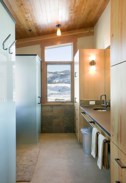 Sustainable Luxury Cabin Design Methow Valley Wa