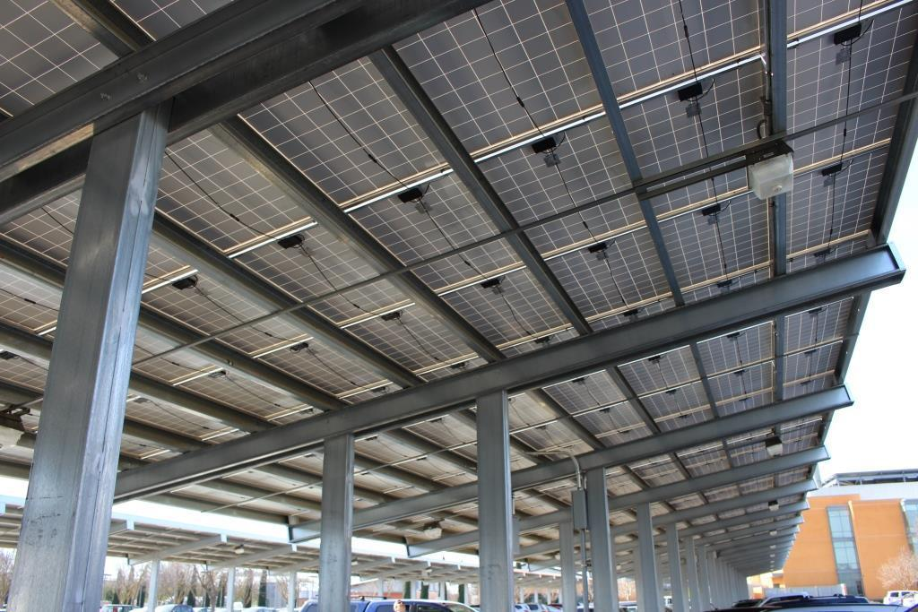 When you shop for a solar carport or photovoltaic (PV) solar array canopy itu0027s not like buying a car. The product isnu0027t even built yet so itu0027s hard to ... & PV Canopies: details details donu0027t bother me with details | Blue ...