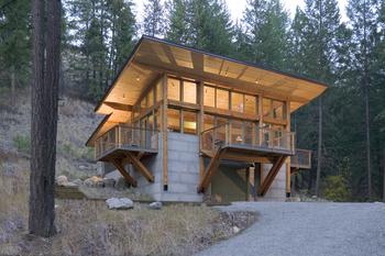 Natural Modern Mountain Home Design By Prentiss Balance Wickline