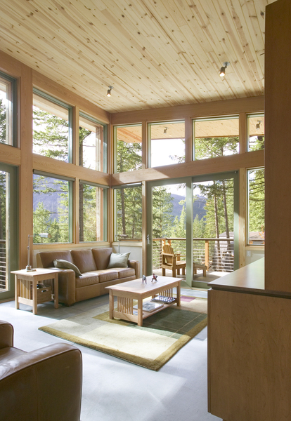 Modern Mountain Cabin Design Methow Valley Wa