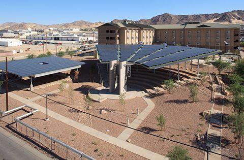 Commercial Solar Rooftop Installation