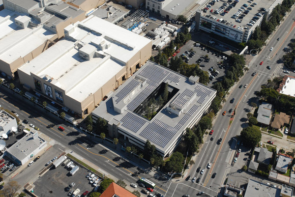 Sony Commercial Rooftop Solar